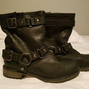 Cute moto boots
